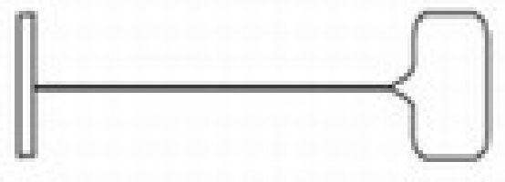 Splinty silné do textilních klešti TAGPIN 180mm