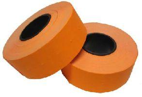 Samolepící cenové etikety Cola-ply22x12mm-oranžová