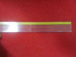 Cenovková lišta průhledná 625x390mm