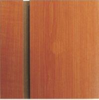 Slatwall panel 2400x1200 rozteč 150mm, Třešeň