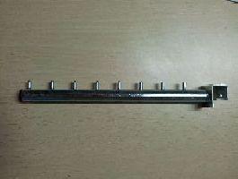 Rovné rameno 30cm s 8válečky na jekl 20x20, pozink