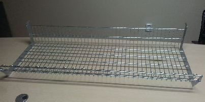 Drátěná koš, pozinkovaný 370x1000x250mm, KONČÍ