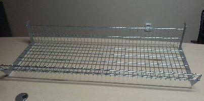 Drátěná koš, pozinkovaný 370x1250x250mm, KONČÍ