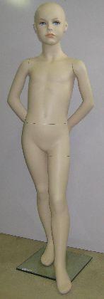 Detská figurína-chlapec, výška 1,3m, telová farba