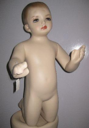Detská figurina ,bábätko na kolenach výška 0,6m,
