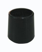 Pätka plastová v čiernej farbe,vonkajšie