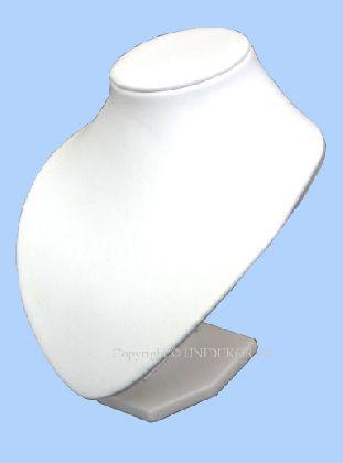 Koženkou potiahnutý  nízky hrudník, Farba bielé