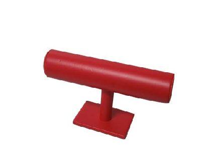 Roter Halter für Armbänder
