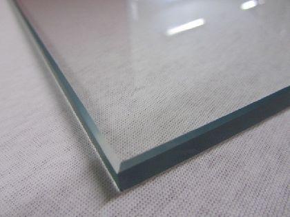 Glasgestell TEMPER 1247x300x8mm, klar