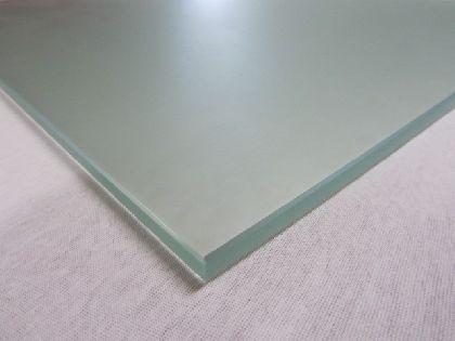 Glasgestell TEMPER 997x400x8mm, matt