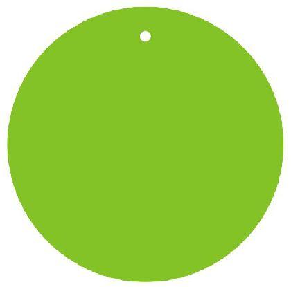 Visačky guľaté GREEN, priemer 80mm