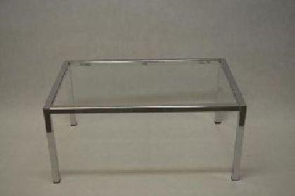 Pochrómovaný rám predajného stola 1200x600x600