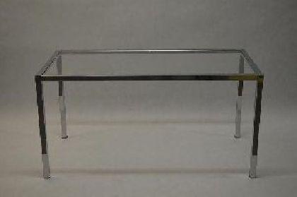 Pochrómovaný rám predajného stola 1500x600x900