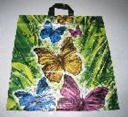 Tašky s motivom ( barevný Motýľ  )
