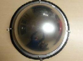 Kontrolné zrkadlo CONVEX, pologule, 60 cm
