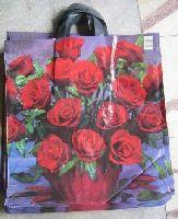 Tašky s kvetinovými motívmi, 43x50cm s 2 uchami. ( Ruže )