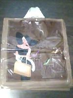 Tašky s  motívom, 43x50cm s 2 uchami. ( Brown girl )
