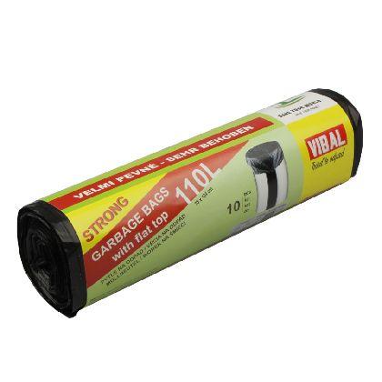 Odpad. pytle BASIC 110L,černá,70x104cm,10ksx20r