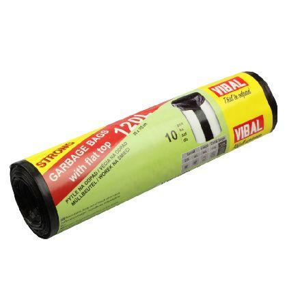 Odpad. pytle BASIC 120L,černá,80x115cm,10ks x20r