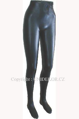 Nohy dámske, čierne , plastové a samostojaca