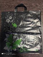 LDPE tašky s 2 úchytmi, nový motív, vel.43x50cm ( zelený motýl )