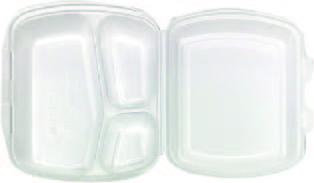 MENU BOX BFG 3 dílný, velký , bilý 200ks/kar, 50ks/bal