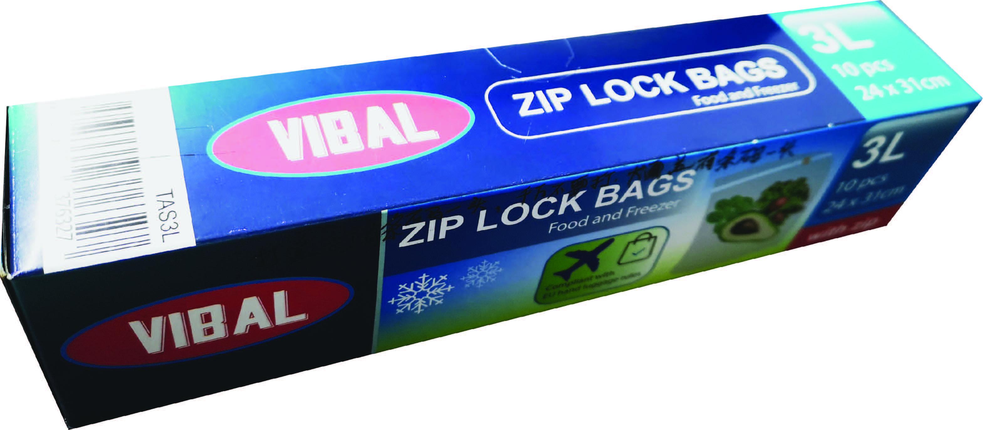 Zip sáček s posuvným uzávěrem, mrazák 240x310mm,10ks/bal,24bal/kar