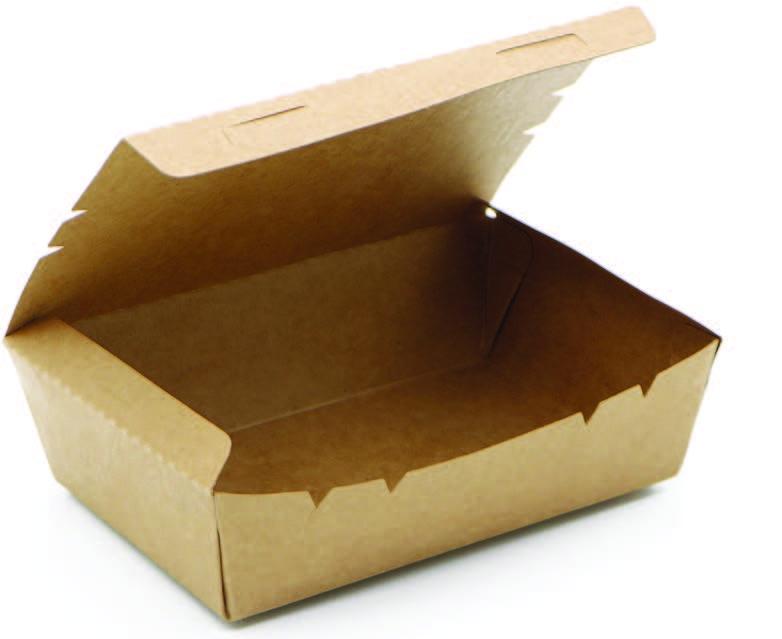 Krabička fast food, EASY CLICK 800ml, 132x104x64mm,50ks/bal,4bal/kar