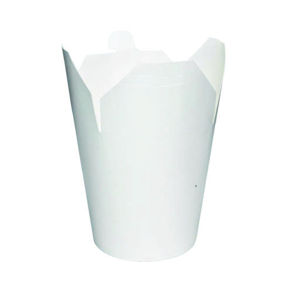 Box na nudle 450ml/16oz, 50ks/10bal. bílý, 300gsm+18g,50ks/bal,10bal/kar