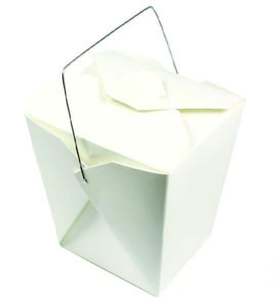 Box na rezance hranatý biely s potlačou 450ml/,50ks/bal,9bal/kar