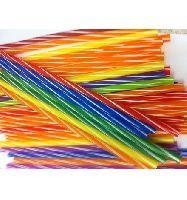 PP Flexibilní slámky, 4 barev,05x240mm,250ks/bal,24bal/kar