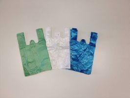 HDPE mikroténové tašky1 kg,barva zelená,100ks/bal