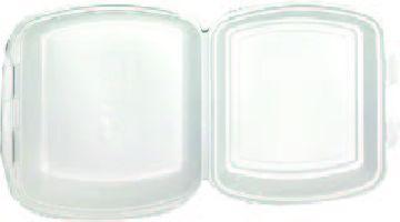 MENU BOX 1 dílný, bilý 125ks/bal