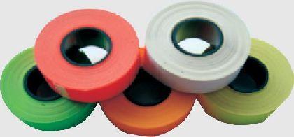 Samolepiace cenové etikety Cola-ply 22x12mm, červe