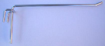 Vešiak na sieť 10cm-jednoduchý