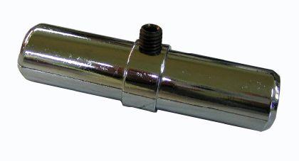 Pochrom. trubková spojka vnútorná O25mm