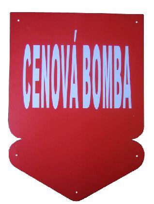 Paper around -CENOVÁ BOMBA size 240x330mm