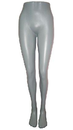 Nohy dámske, šedé , plastové a samostojaca