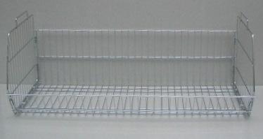Stohovací kôš chromový 90x43x30cm