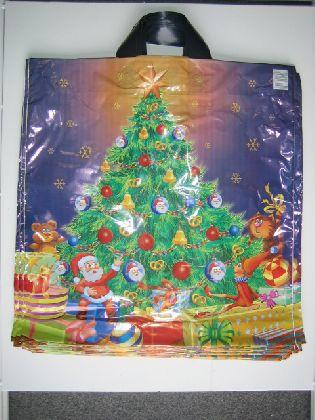 Tašky s motivom ( Vianočné stromček )