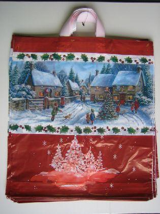 Tašky s motivom ( vianočné + domčeky )
