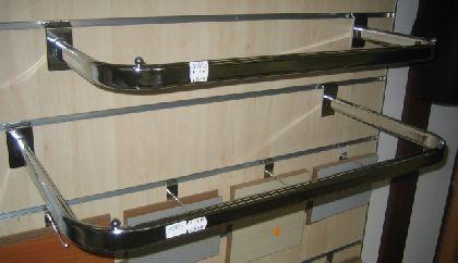 U-držiak 997mmx250mm na drážkový panel